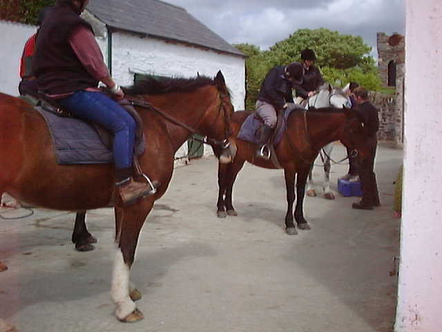 Horse Riding in Dunfanaghy