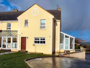 self catering dunfanaghy, portnablagh, overlooking sheephaven bay